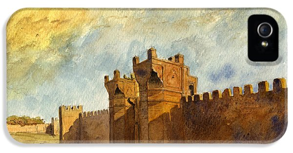 Ruins iPhone 5 Cases - Ruins Morocco iPhone 5 Case by Juan  Bosco
