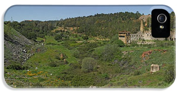 Andalusia iPhone 5 Cases - Ruins Of Buildings And Mining Effects iPhone 5 Case by Panoramic Images