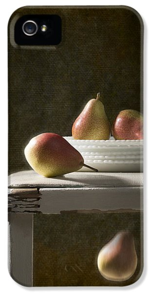 Stools iPhone 5 Cases - Rustic Pears iPhone 5 Case by Amanda And Christopher Elwell