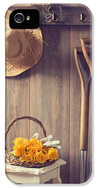 Allotment iPhone 5 Cases - Rustic Shed iPhone 5 Case by Amanda And Christopher Elwell