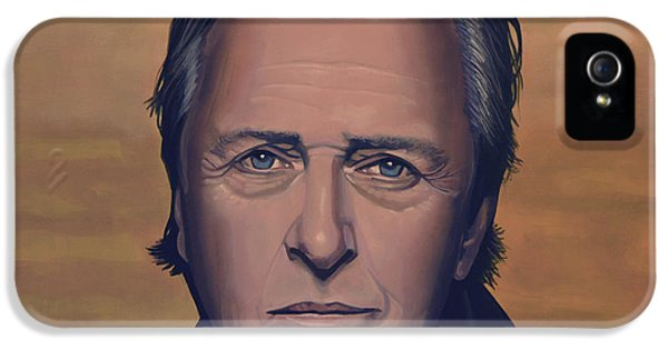 Mind iPhone 5 Cases - Rutger Hauer iPhone 5 Case by Paul  Meijering