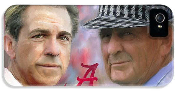 Saban And Bear IPhone 5 / 5s Case by Mark Spears
