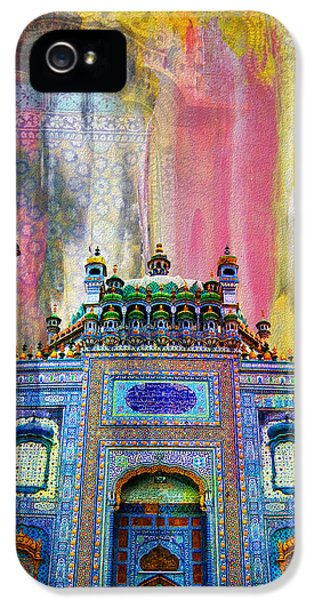 Pakistan iPhone 5 Cases - Sachal Sarmast Tomb iPhone 5 Case by Catf