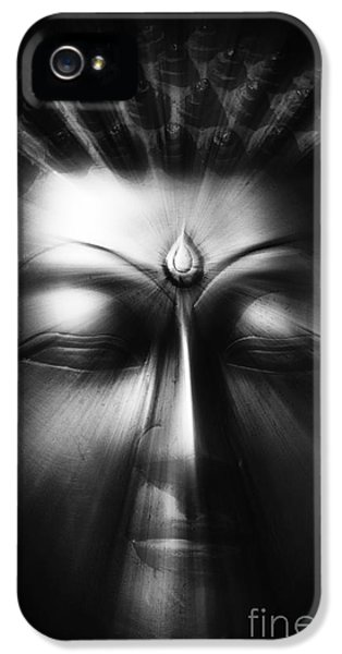 Third Eye iPhone 5 Cases - Sacred Eyes  iPhone 5 Case by Tim Gainey