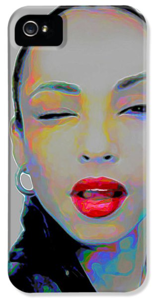 Soft iPhone 5 Cases - Sade 3 iPhone 5 Case by  Fli Art