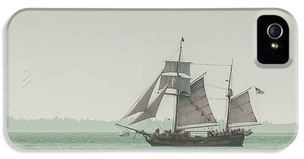Ship iPhone 5 Cases - Sail Ship 2 iPhone 5 Case by Lucid Mood