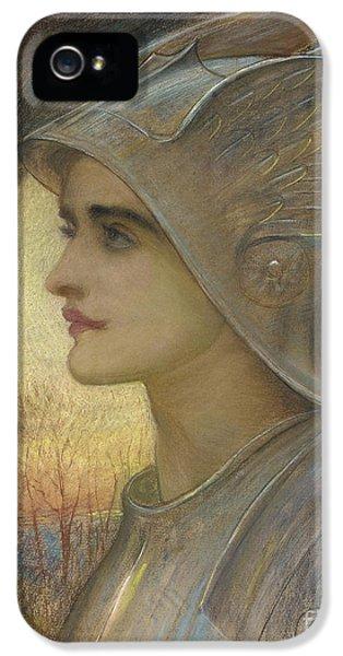 Arc iPhone 5 Cases - Saint Joan of Arc iPhone 5 Case by Sir William Blake Richomond