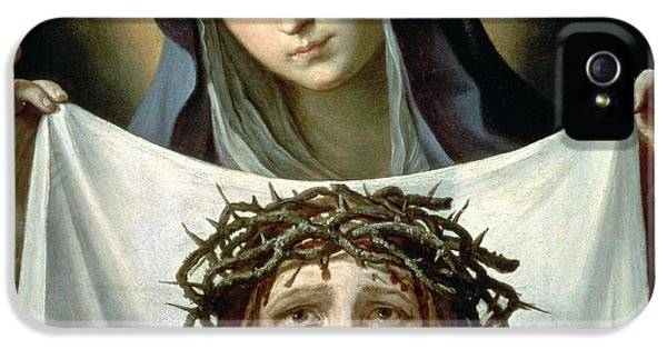 Son Of God iPhone 5 Cases - Saint Veronica iPhone 5 Case by Guido Reni