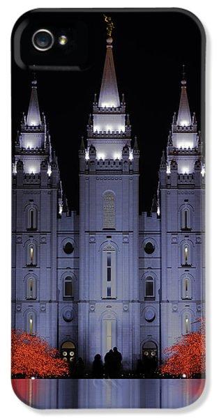 Salt Lake Christmas IPhone 5 / 5s Case by Chad Dutson