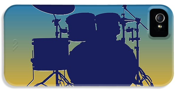 San Diego Chargers Drum Set IPhone 5 / 5s Case by Joe Hamilton
