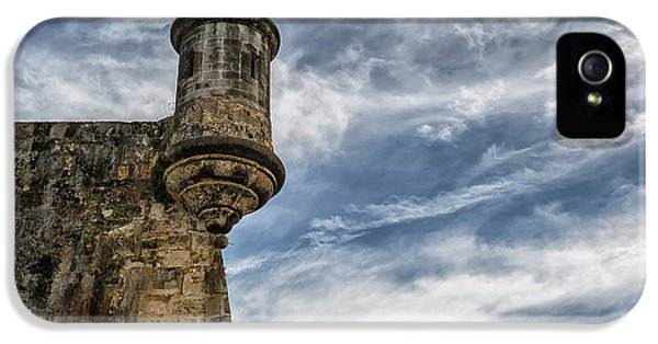 San Felipe Watchtower On A Stormy Day IPhone 5 / 5s Case by Andres Leon