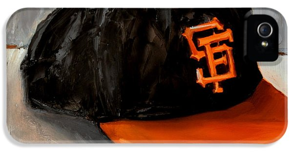 National League iPhone 5 Cases - San Francisco Giants iPhone 5 Case by Lindsay Frost