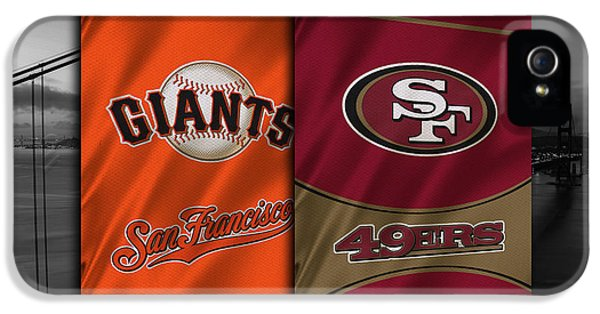San Francisco Sports Teams IPhone 5 / 5s Case by Joe Hamilton