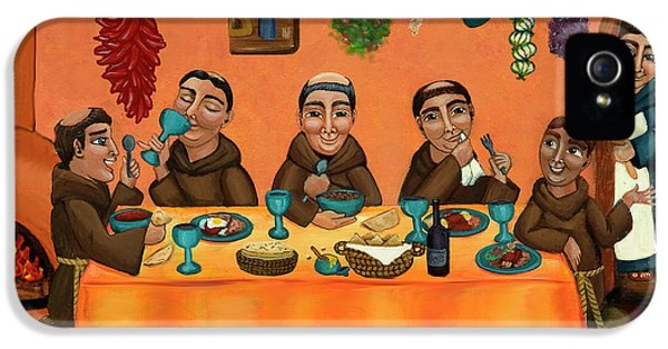 Mexican iPhone 5 Cases - San Pascuals Table iPhone 5 Case by Victoria De Almeida