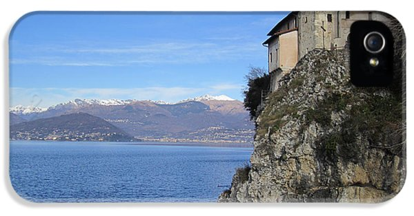 IPhone 5 / 5s Case featuring the photograph Santa Caterina - Lago Maggiore by Travel Pics