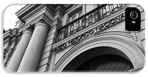 National Museum Of America History iPhone 5 Cases - Santiago Museo Historico Nacional mono iPhone 5 Case by John Rizzuto