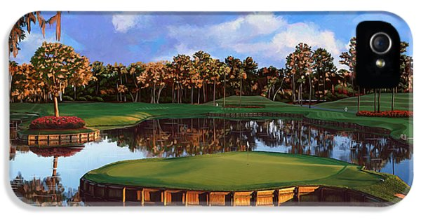 Sawgrass 17th Hole IPhone 5 / 5s Case by Tim Gilliland