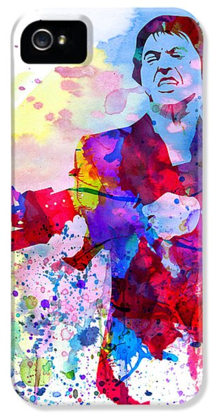 Tv Show iPhone 5 Cases - Scar Watercolor iPhone 5 Case by Naxart Studio