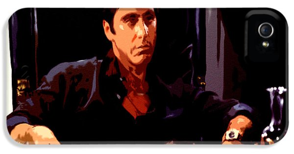 Brian De Palma iPhone 5 Cases - Scarface II iPhone 5 Case by Brian Reaves