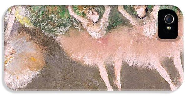 Scene De Ballet IPhone 5 / 5s Case by Edgar Degas
