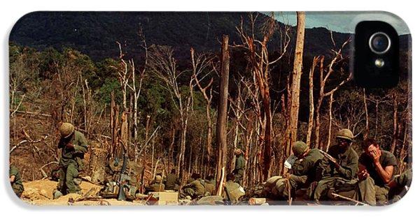 Vietnam War iPhone 5 Cases - Scenes of the Vietnam War 1967 iPhone 5 Case by Mountain Dreams