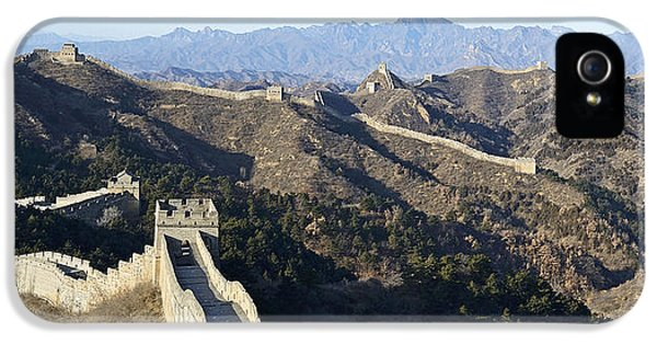 Nl iPhone 5 Cases - Scenic Great Wall of China iPhone 5 Case by Brendan Reals