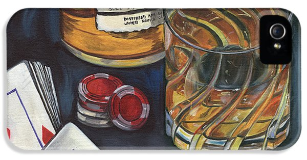 Scotch And Cigars 4 IPhone 5 / 5s Case by Debbie DeWitt