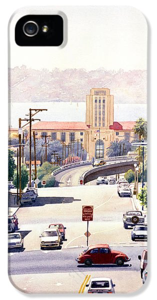 Sd County Administration Building IPhone 5 / 5s Case by Mary Helmreich