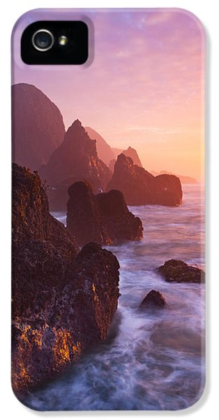 Newport iPhone 5 Cases - Seal Rock Sunset iPhone 5 Case by Darren  White