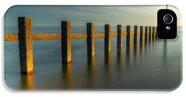 Sea iPhone 5 Cases - Seascape Wales iPhone 5 Case by Adrian Evans
