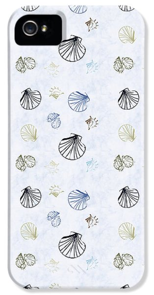 Seashell Pattern IPhone 5 / 5s Case by Christina Rollo