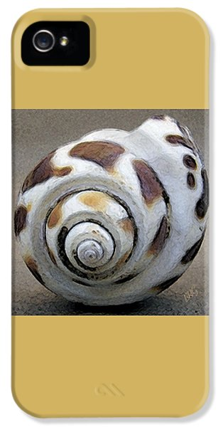 Round iPhone 5 Cases - Seashells Spectacular No 2 iPhone 5 Case by Ben and Raisa Gertsberg