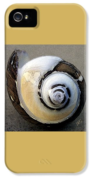 Round iPhone 5 Cases - Seashells Spectacular No 3 iPhone 5 Case by Ben and Raisa Gertsberg