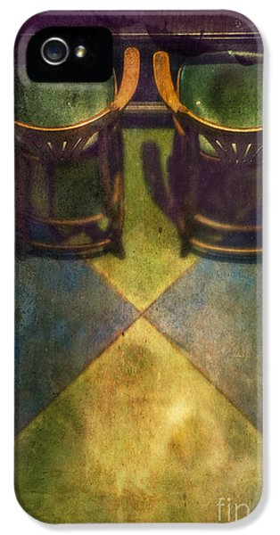 Barstools iPhone 5 Cases - Seat For Two iPhone 5 Case by Danilo Piccioni