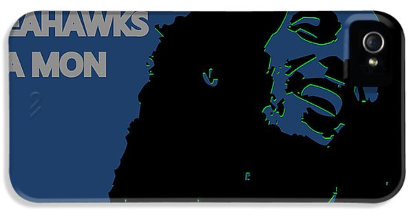 Seattle Seahawks Ya Mon IPhone 5 / 5s Case by Joe Hamilton