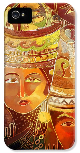 Artsy iPhone 5 Cases - Second Face iPhone 5 Case by Corporate Art Task Force