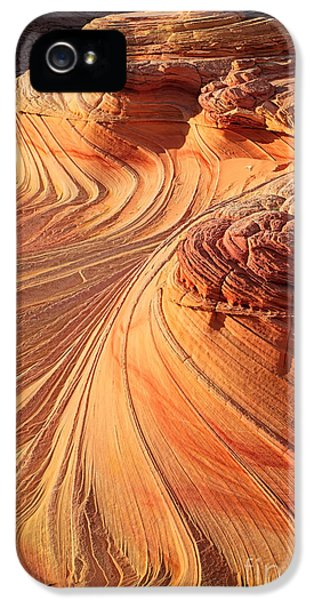 Carve iPhone 5 Cases - Second Wave Flow iPhone 5 Case by Inge Johnsson