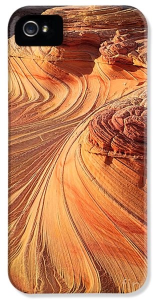 Desolate iPhone 5 Cases - Second Wave Flow iPhone 5 Case by Inge Johnsson