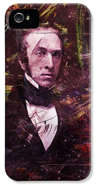 Historical iPhone 5 Cases - Serious Fellow 1 iPhone 5 Case by James W Johnson