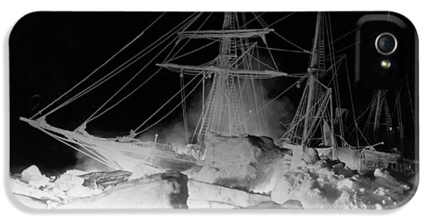 Shackleton's Ship, Endurance IPhone 5 / 5s Case by Underwood Archives