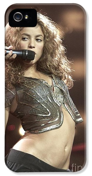 Shakira IPhone 5 / 5s Case by Concert Photos