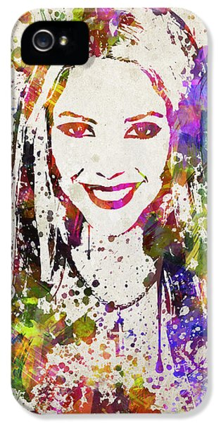 Shakira In Color IPhone 5 / 5s Case by Aged Pixel