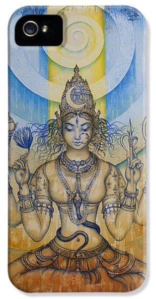 Nirvana iPhone 5 Cases - Shakti - Tripura Sundari iPhone 5 Case by Vrindavan Das