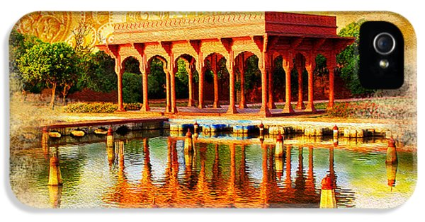 Pakistan iPhone 5 Cases - Shalimar Gardens iPhone 5 Case by Catf