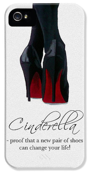 Original Art iPhone 5 Cases - Shoes Can Change Your Life iPhone 5 Case by Rebecca Jenkins