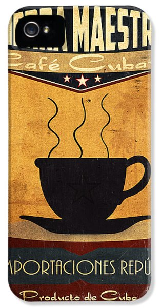 1930s iPhone 5 Cases - Sierra Maestra Cuban Coffee iPhone 5 Case by Cinema Photography