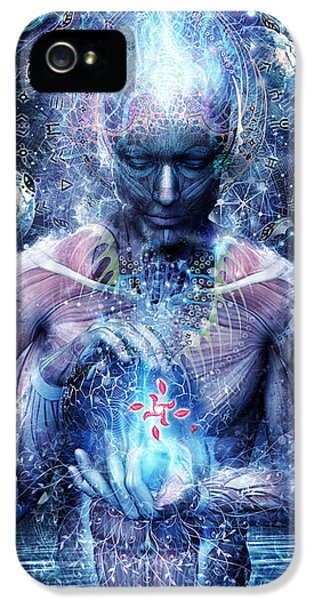 Gray iPhone 5 Cases - Silence Seekers iPhone 5 Case by Cameron Gray
