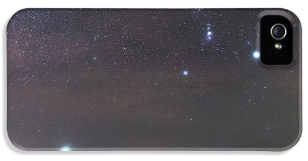 Sirius Rising With Orion IPhone 5 / 5s Case by Tommy Eliassen