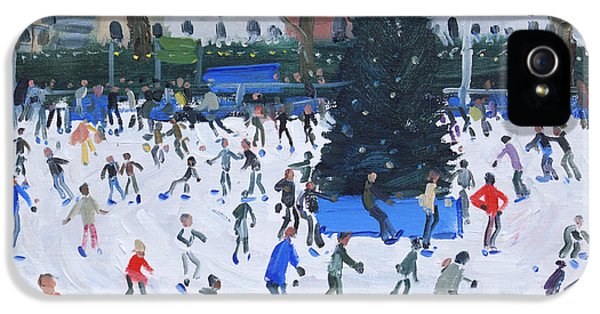 Circling iPhone 5 Cases - Skating  Natural History Museum iPhone 5 Case by Andrew Macara