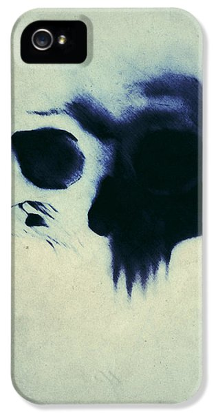 Skulls iPhone 5 Cases - Skull iPhone 5 Case by Nicklas Gustafsson